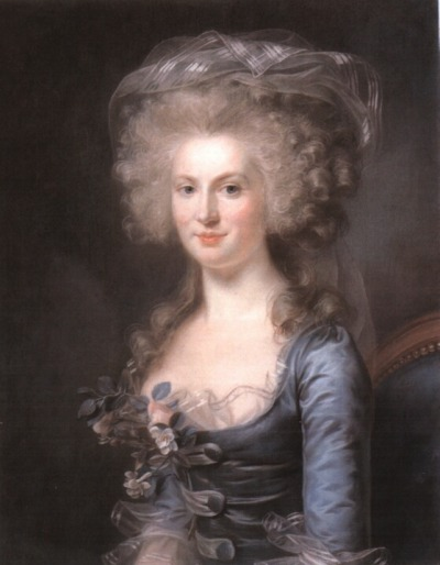 "a-l-ancien-regime:  Portrait of Marie-Gabrielle Capet, 1798. by Adélaïde Labille-Guiard (1749-1803). Adelaide Labille-Guiard was the  great rival of  Elizabeth Vigée-Lebrun, but without family or artistic connections. Her skills were developed over a period of years, and she only began to exhibit her works in her late thirties. She first learned the art of miniature painting, the traditional art form in which women not only participated but dominated.  In the 1780s, she was admitted to the Royal Academy, and she attracted a number of prominent clients, including King Louis XVI's sisters. Her exhibitions were popular, but she never quite equalled the fame of Vigée-Lebrun. Their rivalry was part of the Parisian artistic scene before the Revolution. Frequently, their pictures were hung side by side, inviting comparisons. Unlike Vigee-Lebrun, Labille-Guiard was a supporter of reform, and painted a number of figures who had criticized the court and the crown. Subsequently she stayed in France during the Revolution. In 1791,  she exhibited fourteen portraits of the political elite including Robespierre and Talleyrand. She used the Revolution to further the cause of women artists, and in 1790 she addressed the Academy on lifting the quota for women in that institution. The motion was opposed by David and failed.. Nevertheless, her tenacity during the Revolution gained her many commissions. The passing of the first divorce laws permitted her finally to marry her partner of many years. She died in Paris three years later, in 1803   This post doesn't mention that she not only attracted the sisters of Louis XVI as one-time clients - she was the First Painter of the Mesdames! That's very official. She was one of only four female Académicians admitted at once, along with Vigée-Lebrun, and they were both extremely popular and successful. We've all but forgotten about Labille-Guiard in favor of Vigée-Lebrun now, but it wasn't the case then. After all, Labille-Guiard was the artist chosen by the Académie to paint Louis XVI before his execution. One other artist was also chosen to depict the king. And his name? Jacques Louis-David. If this female artist was deemed just as worthy to paint a portrait of the king as David, she enjoyed a great amount of prestige and fame at one point in her life. (Note: neither of the portraits were completed.) And as a side note, I know the date ""1798"" is all over the internet connected to this portrait of Labille-Guiard's student, but I really think it must be 1789.. because 1798's fashions looked like this! EDIT: the new tumblr set-up 100% sucks, so I have to link to the fashion plate. http://pinterest.com/pin/236790892879676980/"