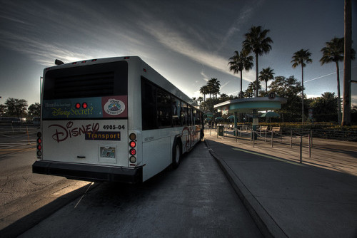 Disney Bus HDR by Jamian (Hiatus) on Flickr.