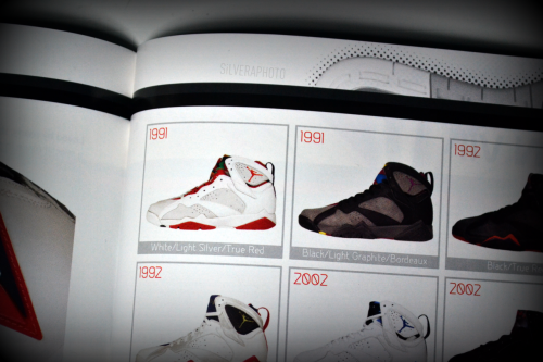 jstforkicks:  1991. Most people think all VII's release in 1992. Wrong. Hares were the first VII's to release in February 1991 & two weeks later, Bordeauxs were also released.
