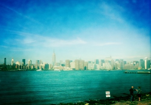 Manhattan skyline from Brooklyn.