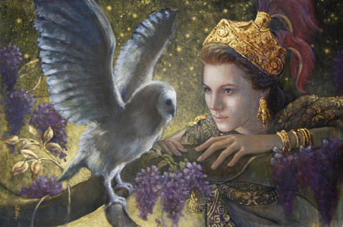 lucifelle:  Athena by Brenda Burke     I adore this depiction of her, simply beautiful. xo