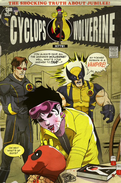 "midtowncomics:  The Truth About Jubilee by Marc D'Alfonso // Excellent homage to the Green Arrow / Green Lantern ""Speedy is a junkie"" book   HELL YEAH I WOULD READ THIS!"