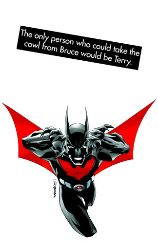 "dccomicconfessions:  ""The only person who could take the cowl from Bruce would be Terry.""  PREACH."