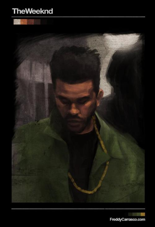lvl5charmander:  The Weeknd!!!! This is an awesome piece of art