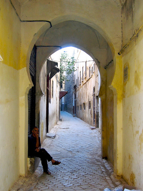 | ♕ |  Medina of Fez, Morocco  | by © Nigel Goodman