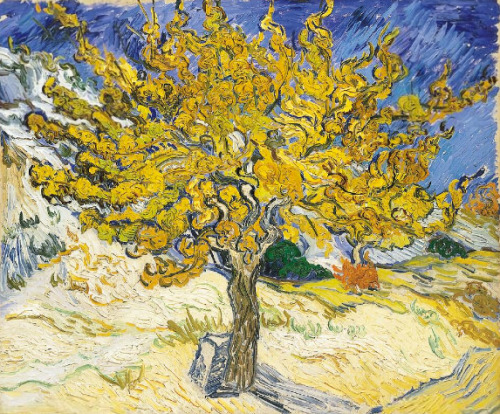 Vincent van Gogh: Mulberry Tree, 1889.