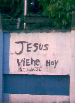 jesusto:  Prepare your anus…