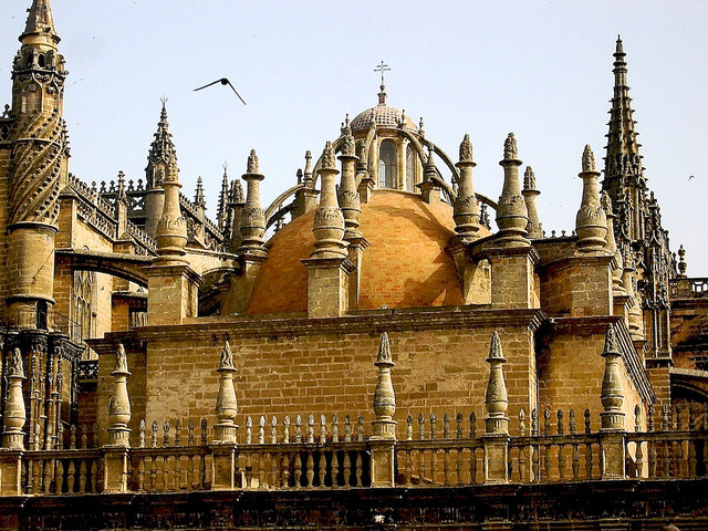 | ♕ |  Seville Cathedral - Andalucia, Spain  | by © Nigel Goodman