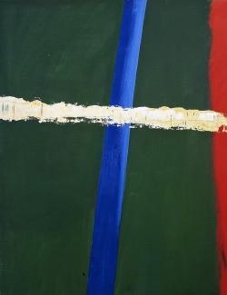 ymutate:  Raoul De Keyser b. 1930: Steek 1 1987/2005 Oil on canvas found at davidzwirner.com, posted by ymutate