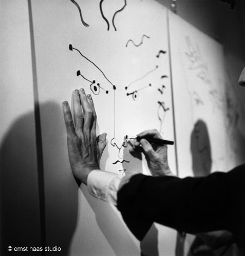 The hands of Jean Cocteau, photograph by Ernst Haas via lush-retina