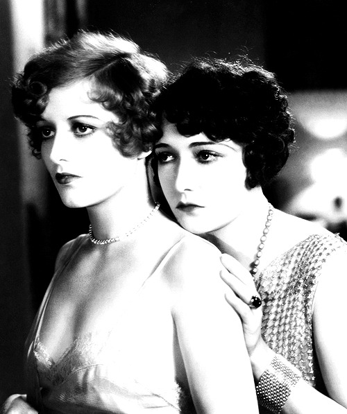 Joan Crawford Dorothy Sebastian  Our Dancing Daughters, 1928 (dir. Harry Beaumont)