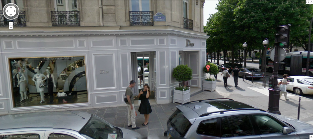 Dior, Avenue Montaigne, Paris, France