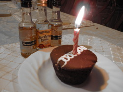 #7!!! Friday December 23rd, 2011…. Jorge's birthday!! Thought I' do something nice for him :P haha!