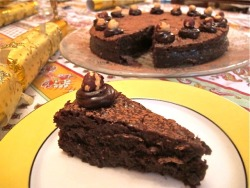 Flourless Nutella Chocolate Torte click image for recipe