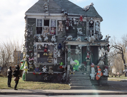 sara-and-company:  I went to the Heidelberg Project today.