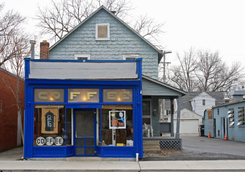 The Columbus, Ohio neighborhood of Clintonville is home to possibly the greatest coffee shop there is.  Yeah, Me Too sells delicious French press coffee. You can get it hot or cold and you can add cream or sugar, but that's it. If you're fancy, you can buy a bag of their beans to take home, but that's seriously the limit. Yeah, Me Too does not offer the fancy coffees you get at chains. Nor does it offer tea, pastries, sandwiches, CDs, or books. If you're looking for a place to have a seat, you're out of luck. There are no chairs. Yeah, Me Too has a laser-like focus on selling coffee and nothing is going to get in the way of that. They don't even advertise or have a website, so if you want to learn more, I recommend the following course of action: Read this article in The Lantern. Read their 5 star reviews on Yelp. Go get the best cup of coffee you've ever had.