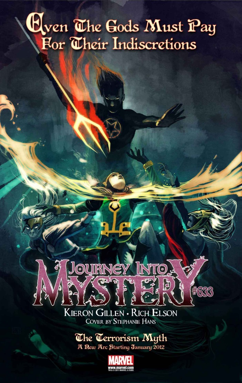 Journey into mistery 633!! i can't wait… *O*