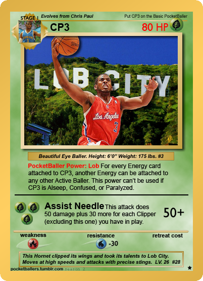 pocketballers:  Lob City - Chris Paul