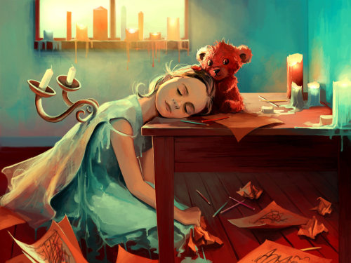 When she was six by Cyril Rolando