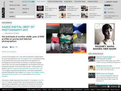 VUU Photographer Nadirah Zakariya in Dazed Digital's Best of Photography 2011!