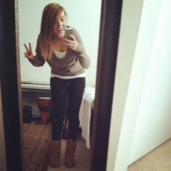 #sunshine #uggs #ombre #peace ✌😜✌ (Taken with instagram)