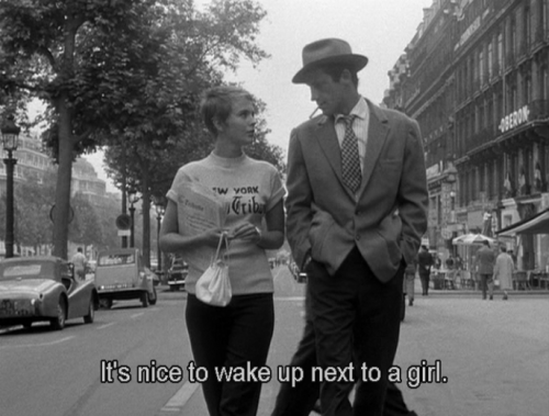 breakfastineurope:  Breathless, 1960