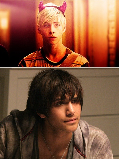 Just finishing up season 4 of skins.  Here are my two favorite characters so far, one from each generation.