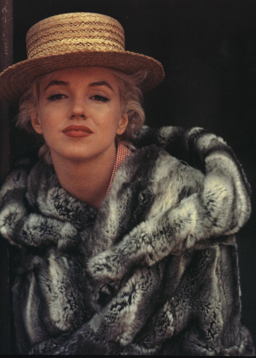 bohemea:  Marilyn Monroe by Milton Greene, May 1956