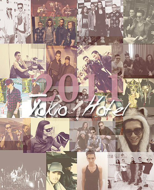 Tokio Hotel, the best of 2011