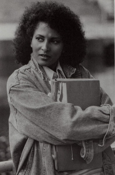 LOOK: (@PamGrier) Pam Grier in Above the Law (1988).