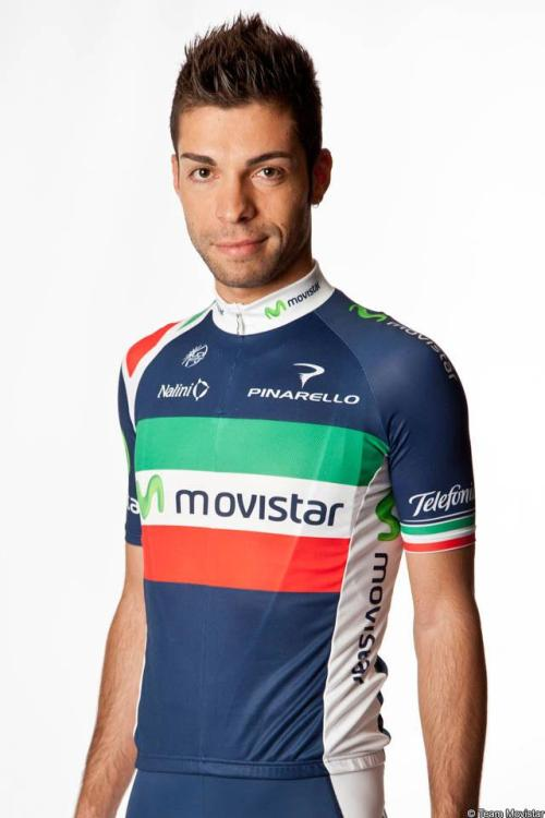 Italian champion Giovanni Visconti has moved to Movistar this season. (via Giovanni Visconti)