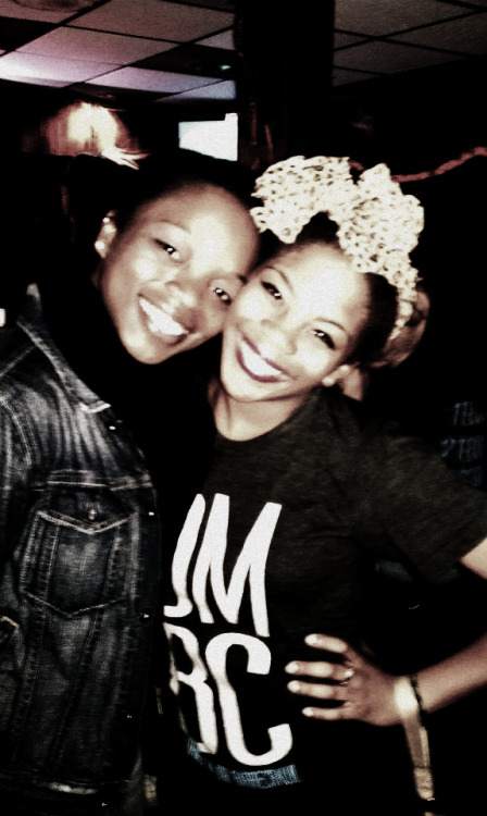 beabrisco:  Jade & I at the Dance Major Bar Crawl :) #DMBC