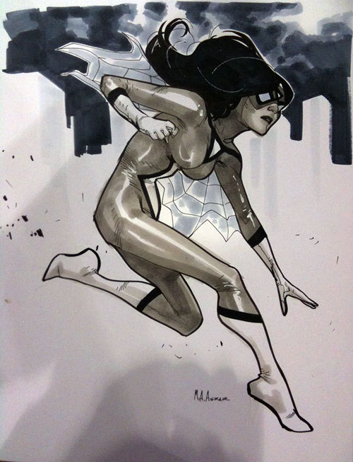 A Collection Of C2E2 2011 Convention Sketches Part II (Poorly Photographed)
