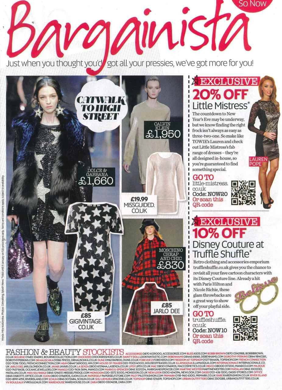 @GiGIVintage featured in Now magazine. Click to shop!