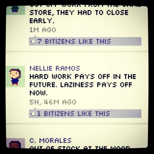 Hahahah :P you gotta love bitbook  (Taken with instagram)