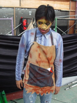 "Halloween Character for Nickelodeon's ""Scary Academy"" event - ""Killer Butcher"""