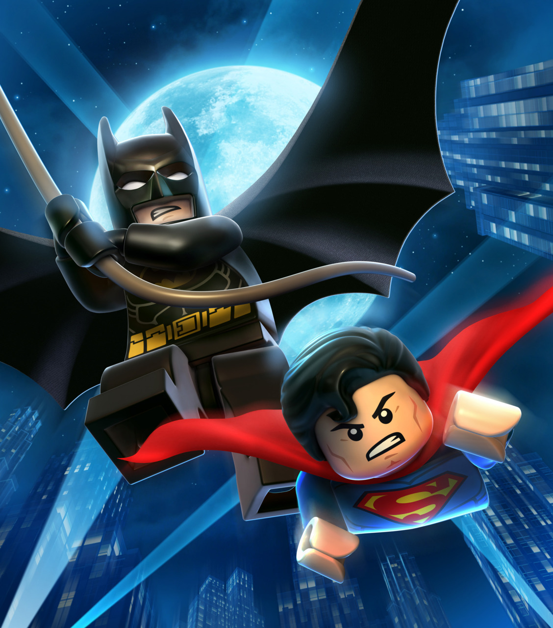 itlego:  Press Release: Lego Batman 2: DC Super Heroes Announced Batman is back to save Gotham City and the action will only build from here! Warner Bros. Interactive Entertainment, TT Games and The LEGO Group are teaming up once again to announce that LEGO Batman 2: DC Super Heroes will be available beginning Summer 2012 for the Xbox 360 video game and entertainment system from Microsoft, PlayStation 3 computer entertainment system, the Wii™ system, and Windows PC, as well as the Nintendo DS™ hand-held system, Nintendo 3DS™ hand-held system, and PlayStation Vita handheld entertainment system.   In LEGO Batman™ 2: DC Super Heroes, the Dynamic Duo of Batman and Robin join other famous super heroes from the DC Universe including Superman, Wonder Woman and Green Lantern to save Gotham City from destruction at the hands of the notorious villains Lex Luthor and the Joker. Batman fans of all ages will enjoy a new and original story filled with classic LEGO videogame action and humor as players fight to put the villains back behind bars.