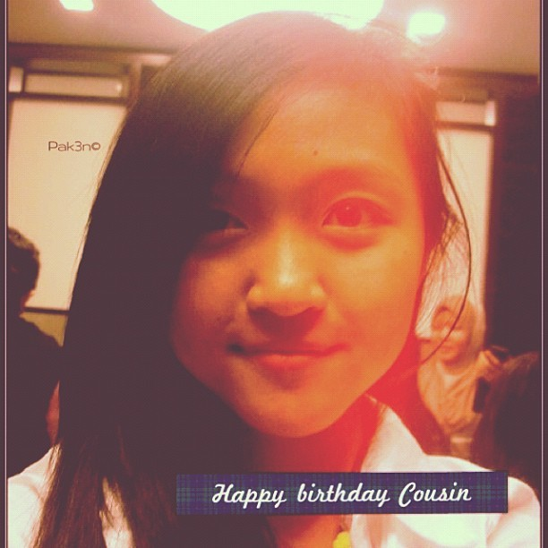 Happy Birthday to Cousin, @yastatic | #mokties #family #birthday #brunei #brunika #pak3n #cousin  (Taken with instagram)