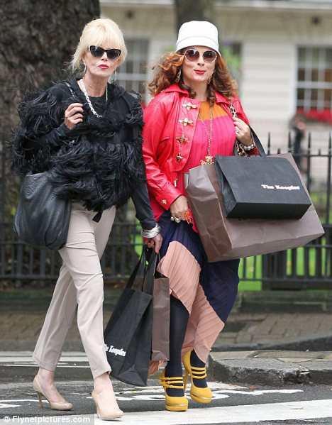 The Girls are back! Eddie and Patsy on BBC America Jan. 8th!