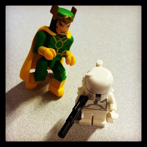 dreamyeyed:  LOOK OUT! #loki #starwars (Taken with instagram)