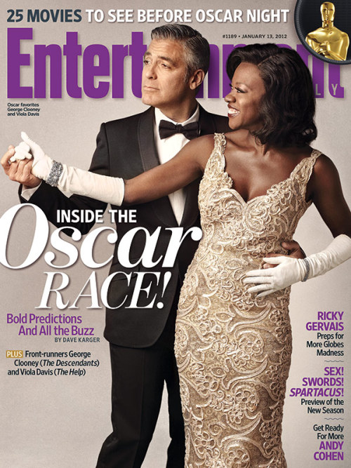 entertainmentweekly:  This Week's Cover: Viola Davis and George Clooney talk Oscars, acting, and their longtime friendship