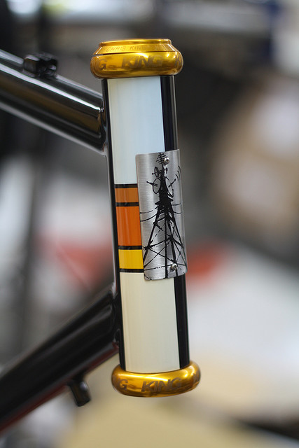 head tube by signal cycles on Flickr.