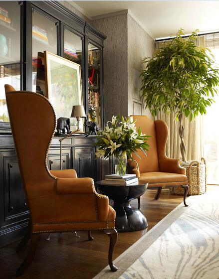 Design by Thom Filicia - I'll take two of those chairs, please.