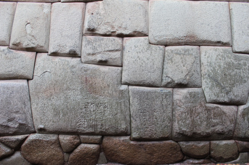 "Cusco - This 12 sided stone is a testament to the skill of the Ancient Inca builders. When asked by the spanish who it was who built the melted looking stone foundations the locals replied along the lines of ""they were here when we found the land, the gods built them"" There are numerous legend in the Andes that Sacsayhuaman, Machu Picchu, Tiahuanaco and other megalithic remains were built by a race of giants."