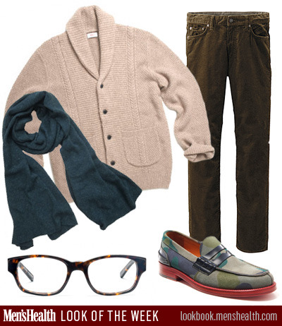 Happy Monday! What do you think of this week's Look of the Week? Sweater: Club MonacoPants: UniqloScarf: Autumn CashmereShoe: Tommy HilfigerGlasses: Warby Parker