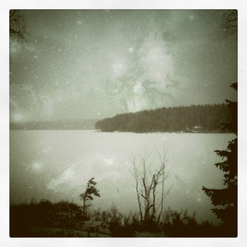 #snow #ice #lake #landscape (Taken with instagram)