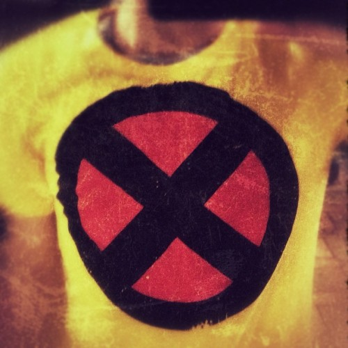 #tshirt #fashion #comic #marvel #xmen #random  (Taken with instagram)