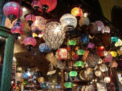 Grand Bazaar in Instanbul, Turkey