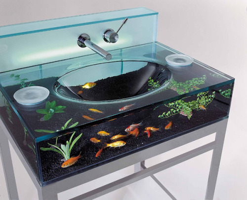 Aquarium Sink Because frak you, that's way. $4,500
