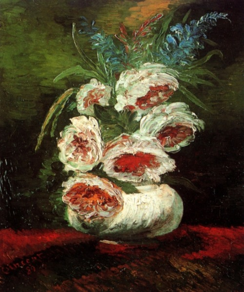 Vincent van Gogh, Vase with Peonies